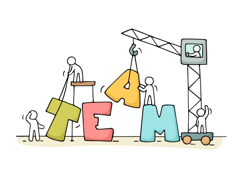 Building Construction Cartoon : Core skills needed to manage your team construction
